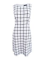 Nine West Women's Plaid Dress