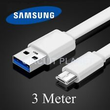 3m Micro USB Sync Charging Charger Cable Lead For Samsung Galaxy S7 Edge White