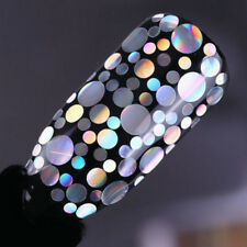Holo Nail Glitter charm shine Sequins Flakes Laser Nail Art Mixed Size Tips