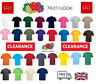 Fruit Of The Loom Cotton Plain Men's Womens Tee shirts T Shirt S-5XL NEW
