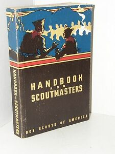 Vintage Boy Scout handbook for scoutmasters 1957
