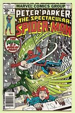 The Spectacular Spider-Man #4 March 1977 Peter Parker  High Grade VF-NM