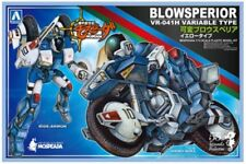 Aoshima 1/12 Mospeada Cyclone Ride Armor Yellow Type Model Kits (Transformable)