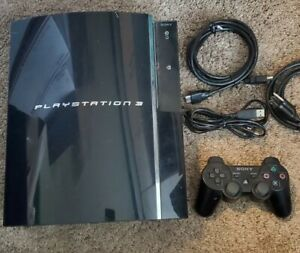 Sony PlayStation 3 PS3 Fat 80GB Backwards Compatible CECHE01 ***Read***