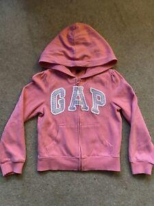 Gap Girls Hoodie age 5 Coral
