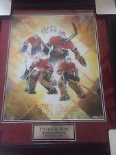 "Patrick Roy signed 16x20 ""St. Patrick"" framed with UDA certification"