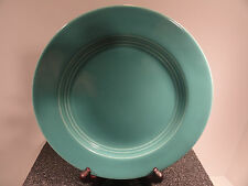 Homer Lauglin Turquoise Harlequin Salad / Dessert Plate