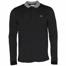 LACOSTE STRIPED LONG SLEEVE POLO - LARGE T5 - BNWT - PH4011 - RRP £99