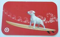 Target Gift Card Bullseye Dog - Surfing - 2008 - No Value - I Combine Shipping