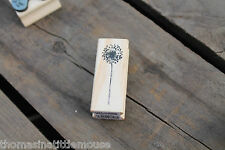 East of India Rubber Craft Stamp Christmas Gift Tags Special Occassion Weddings 3677 - Dandelion