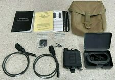 *USA SELLER* Invisio X50 TEA Dual Comm In-Ear Headset PTT Comms Kit *Excellent*