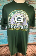 Green Bay Packers National Football League Green T Shirt Adult Large Nwot Reebok