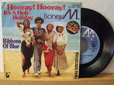 """7"""" Single - BONEY M. - Hooray! Hooray! It´s A Holi-Holiday - Hansa 1979"""