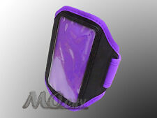 Adjustable Sport Armband Case for Samsung Galaxy Note N7000/2 N7100/I717 PURPLE