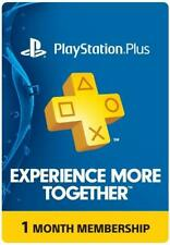 PS PLUS 1 MONTH PSN Plus (Read description).