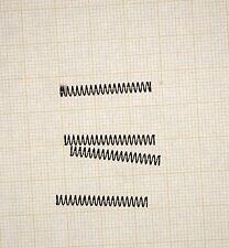 4 x Druckfeder, Länge 26mm, Außen Ø3,2mm, Drahtstärke 0,3mm