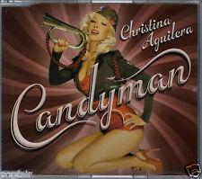 CHRISTINA AGUILERA - CANDYMAN / HURT REMIX 2007 EU CD SINGLE RCA - 88697083452