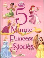 5-Minute Princess Stories - 12 stories from Walt Disney, Color illustrations, HB