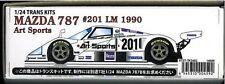 Studio27 1/24 Transparent Kit Mazda 787 #201 Lm 1990 Art 1/24trans Kits