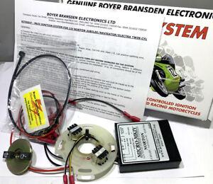 Norton Jubilee Navigator Electra Boyer Bransden electronic ignition system 12V