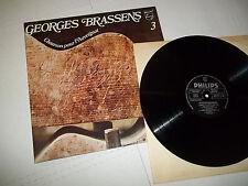 Georges Brassens 3 CHANSON POUR AUVERGNAT LP Philips France ex-nm