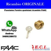 7120885 FAAC CILINDRO SERRATURA SBLOCCO MOTORE C851