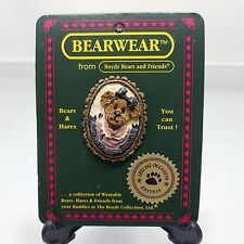 Bestest Mom Pin Boyds Bearwear Bears and Friends Special Occasion Pin No 82502