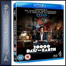 20000 DAYS ON EARTH - Nick Cave ***BRAND NEW BLU-RAY **