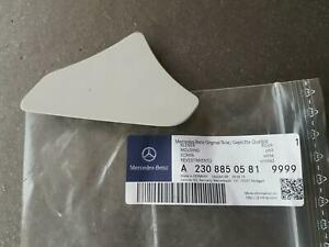 Mercedes-Benz Genuine R230 SL-Class Headlight Washer Cover Left 2003-2006 New