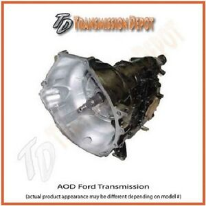 "AOD TRANSMISSION  MUSTANG / FORD  Performance  550HP  ""The Demon""  STAGE 1"