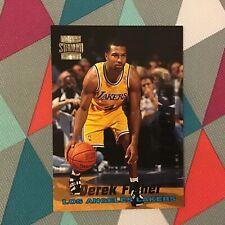 Derek Fisher #R20 lakers Rookie RC Members Only 1996-97 Topps Stadium Club