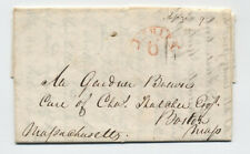 1823 New Orleans to Boston ship 6 stampless [45.260]