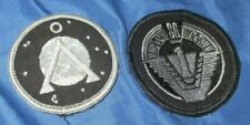 STARGATE ATLANTIS SG1/SG-1 Original TV Prop ~Vala Mal Doran Uniform Patches Lot