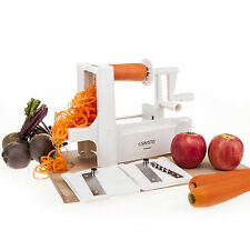 Savisto Tri Blade Vegetable Fruit Spiralizer Spiral Slicer Cutter and Chopper