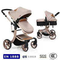 3 In 1 Baby Stroller Travel System High View Car Seat