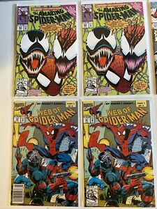 Old Vintage Amazing Spider-Man #363 And More KEYS! Get All 8 Books In Lot!