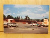 B12) Postcard IDLENOT DAIRY BAR near SPRINGFIELD VT vintage autos by Don Sieburg