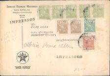 BRAZIL old philatelic cover to Belgium 1930s