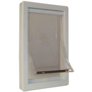 Extra Large Deluxe Framed Pet Door Magnetic Flap Dog Cat 10.5 In X 15 In