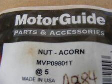 NEW MotorGuide Mariner Nut Acorn MVP09801T Outboard -Bag w/5