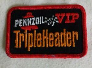 Pennzoil VIP, Triple Header  Racing Patch -Automotive/ Advertising/ SALE Price