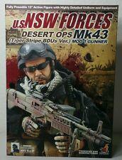 HOT TOYS 1/6 U.S. NSW FORCES DESERT OPS Mk43 (Tiger Stripe BDU Ver.)MOD 1 GUNNER