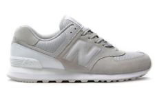 New Balance Men's ML574WB Classic Casual Sneakers, Grey/White