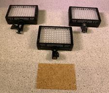3X LitePanels LP-Micro-Pro LED on-Camera Light Kit