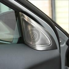 2pcs Stainless Steel Car Audio Interior Speaker Trim For Mercedes Benz GLA X156