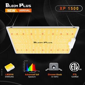 Bloom Plus XP1500W LED Grow Light Sunlike Full Spectrum Samsung 301H Veg Flower