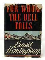 Ernest Hemingway - For Whom the Bell Tolls - 1st 1st w/A - Author Old Man & Sea