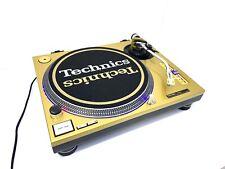 TECHNICS SL 1210 MK2 GOLD Profesional Turntable Refurbish Like New 1200 MK5 M5G