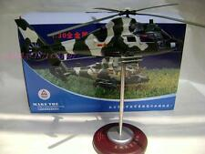 Nine helicopter aircraft alloy model 1:30 (L)