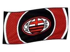 AC Milan Drapeau Bullseye Design Grand Corps Cimier Rouge Blanc Noir 1.5 x 0.9m